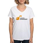 SwissGroove Women's V-Neck T-Shirt