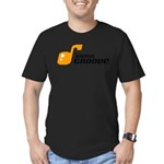 SwissGroove Men's Fitted T-Shirt (dark)