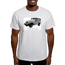 fj40 Ash Grey T-Shirt