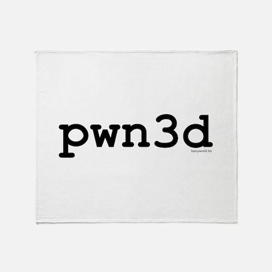 pwn3d Throw Blanket