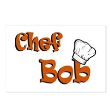 CHEF Bob Postcards (Package of 8)