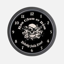 Rum, Chum or Bum Wall Clock