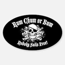 Rum, Chum or Bum Decal