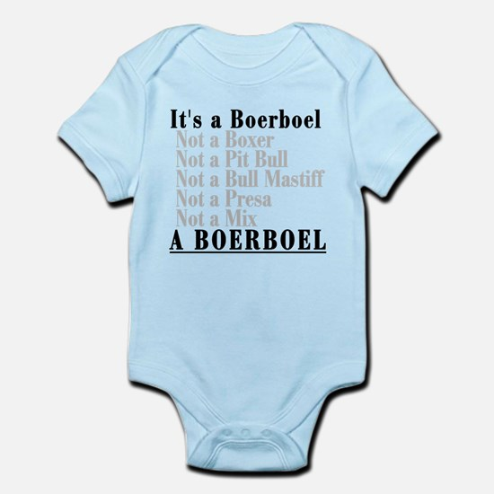 It's a Boerboel Infant Bodysuit