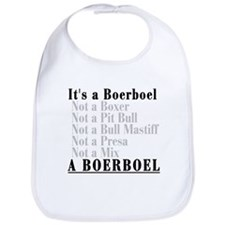 It's a Boerboel Bib