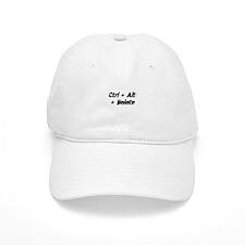 Ctrl + Alt + Delete Baseball Cap