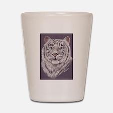 White Tiger Shot Glass