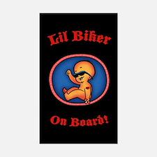 Lil Biker Sticker (Rectangle)