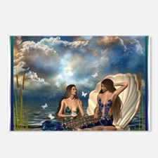 Best Seller Merrow Mermaid Postcards (Package of 8
