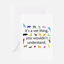 It's A Vet Thing Greeting Card