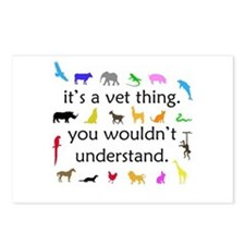It's A Vet Thing Postcards (Package of 8)