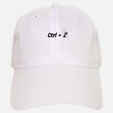 Ctrl + Z Baseball Baseball Cap