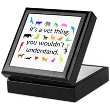 It's A Vet Thing Keepsake Box