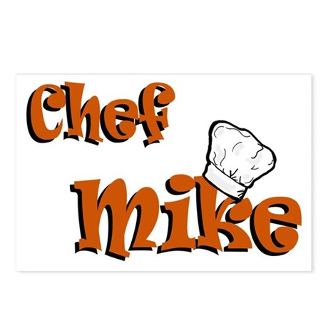 Chef Mike Postcards (Package of 8)