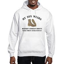 TFA Son Wears Combat Boots Hoodie
