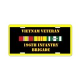 196th light infantry brigade License Plates
