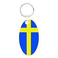 Sweden Flag Keychain