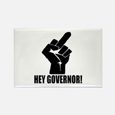 Hey Governor! Rectangle Magnet