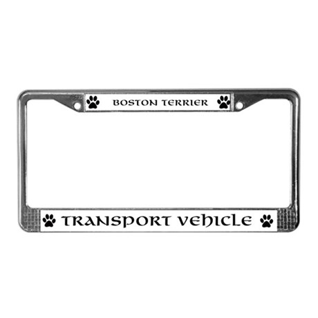 Boston Terrier plate cover