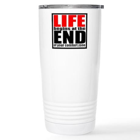 Life begins... Stainless Steel Travel Mug