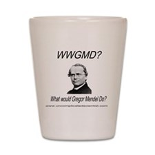 What Would Gregor Mendel Do? Shot Glass