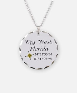 Geocaching Key West, Florida Necklace
