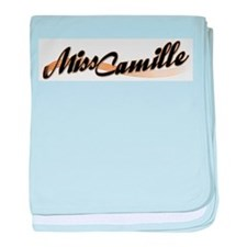 Miss Camille baby blanket