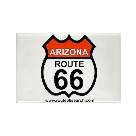 Arizona Route 66 Rectangle Magnet