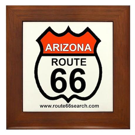 Arizona Route 66 Framed Tile