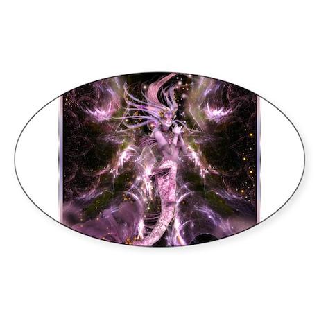 Best Seller Merrow Mermaid Sticker (Oval 10 pk)