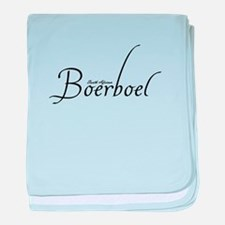 South African Boerboel - Scri baby blanket