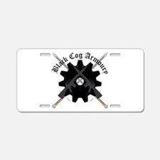 Cute Weaponry Aluminum License Plate