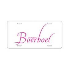 South African Boerboel - Scri Aluminum License Pla