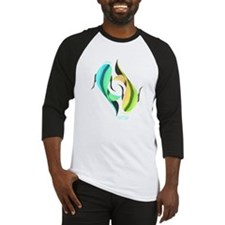 KOI FISH - YIN AND YANG FISH Baseball Jersey