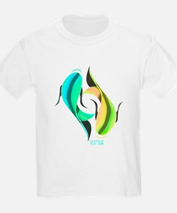 KOI FISH - YIN AND YANG FISH T-Shirt