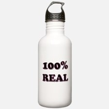 100% Real Water Bottle