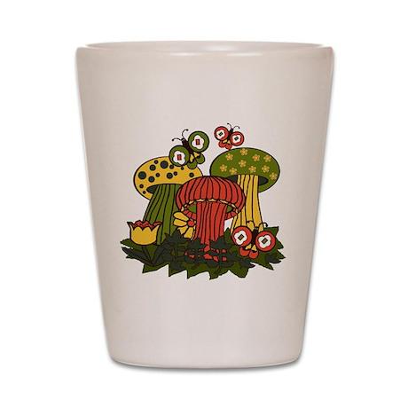 Magic Mushrooms Shot Glass