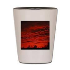 Delta Fiery Sunrise Shot Glass