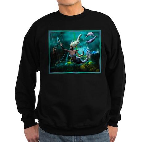 Best Seller Merrow Mermaid Sweatshirt (dark)