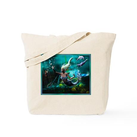 Best Seller Merrow Mermaid Tote Bag