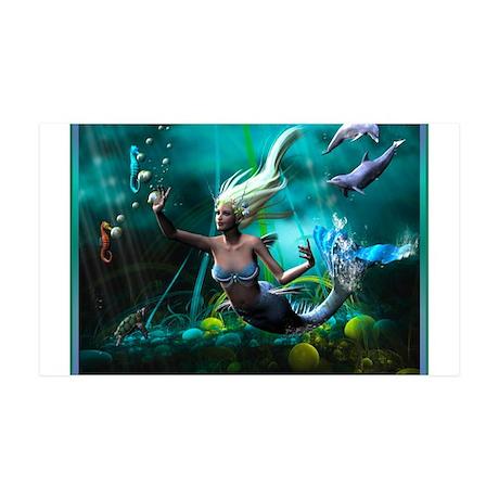 Best Seller Merrow Mermaid 38.5 x 24.5 Wall Peel
