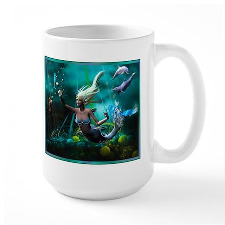 Best Seller Merrow Mermaid Large Mug