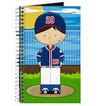 Little Baseball Boy Journal