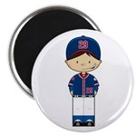Little Baseball Boy Magnet