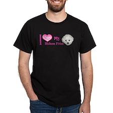 Cute Bichon frise T-Shirt