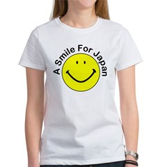 A Smile For Japan Women's T-Shirt