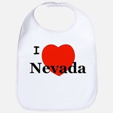 I Love Nevada Bib