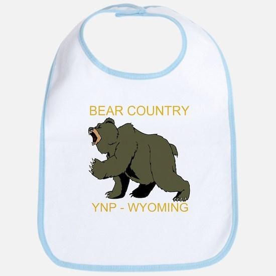 Grizzly Bear YNP Bib