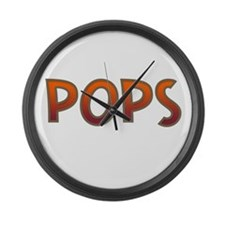 POPS Large Wall Clock