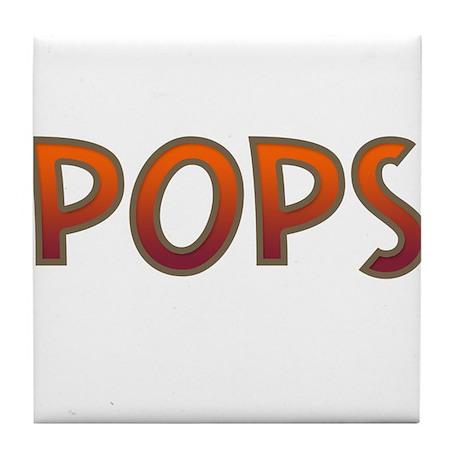 POPS Tile Coaster
